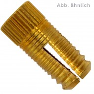 50 FISCHER Messingdübel PA 4 M8 x 25 mm - Messing