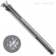 50 FISCHER Metallrahmendübel F-M 10x182mm - mit SEKO Schraube - PZ