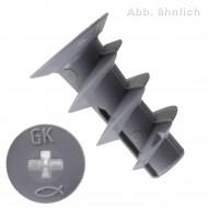 100 FISCHER Gipskartondübel GK 5 x 22 mm - Kunststoff - inkl. Setzwerkzeug