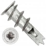 100 Gipskartondübel Metall 13x34mm