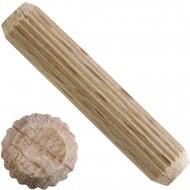 1 kg Parco Riffeldübel Holzdübel - Buchenholz 8 x 40 mm - ca. 640 Stück