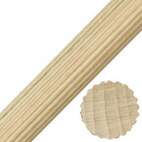1 Buchen-Riffelstab , 20 x 1000 mm, trocken, maßbeständig, Industriequalität