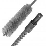 1 Bürste mit Außengewinde M6 ,20 mm Durchmesser