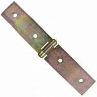 1 GAH Kistenband 200x35 mm - leichte Ausführung - gelb verzinkt