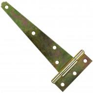 1 GAH Kistenband 150x55,5 mm - gerollte Ausführung - gelb verzinkt