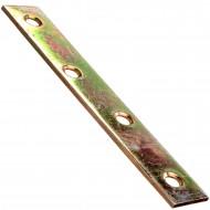 1 Flachverbinder gelb verzinkt 100x15x2