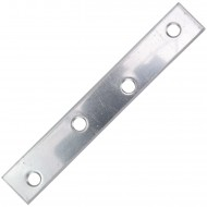 1 Flachverbinder Edelstahl A2 100x15x2
