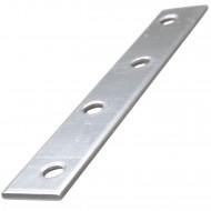 1 Flachverbinder Edelstahl 100x15x2