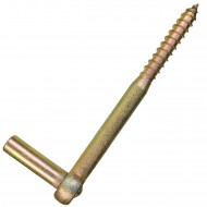 1 GAH Schraubkloben - Dorn: 13mm, Länge: 165mm - gelb verzinkt