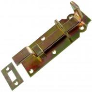 1 GAH Schlossriegel 120x44x16 mm - gekröpft - gelb verzinkt