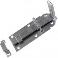 1 GAH Schlossriegel 120x45 mm - gerade Ausführung - Edelstahl