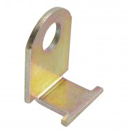 1 GAH Doppeltorüberwurf 423 mm Gesamtlänge - gelb verzinkt