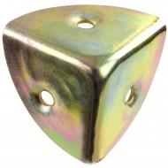 1 GAH Kistenecke 30 mm - gelb verzinkt