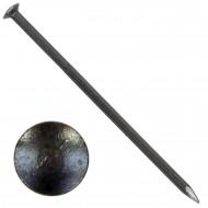 1000 BÄR Stahlnägel 2 x 50 mm, gehärtet mit Linsenkopf und geschnittener Spitze