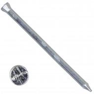 250 BÄR Sockelleistenstifte 1,4x25 mm, verzinkt mit Tiefversenkkopf