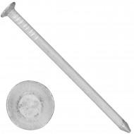 50 Aluminiumnägel 3,5x65 mm, mit Senkkopf, glatt, gebeizt