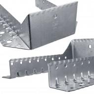 25 Balkenschuhe 100x140x1,5 mm - feuerverzinkt, Typ A, Laschen außen, zugelassen