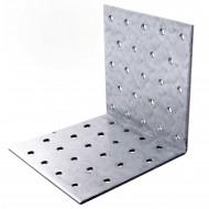 25 Lochplattenwinkel zugelassen ETA-09-0355 feuerverzinkt 100x100x100x2,5 mm