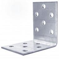 10 Lochplattenwinkel zugelassen ETA-09-0355 feuerverzinkt 50x50x40x2mm