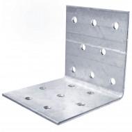 50 Lochplattenwinkel, Winkelverbinder,  sendzimirverzinkt 60x60x60x2mm ETA