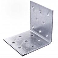 50 Lochplattenwinkel, Winkelverbinder,  sendzimirverzinkt 60x60x60x2,5 mm ETA