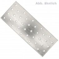 50 Standard Lochbleche feuerverzinkt 60x160x2,0 mm