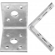 100 Standard Winkelverbinder zugelassen ETA-09-0355 50x50x40x3,0 mm ohne Steg