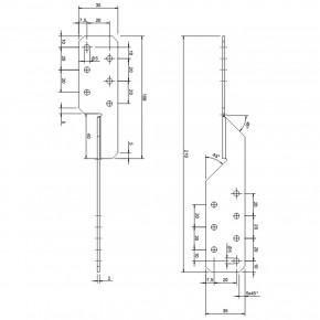 10 Sparrenpfettenanker zugelassen ETA-14/0105 Typ Universal 210 - Standard