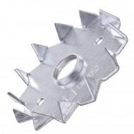 100 Einpressdübel DIN 1052 1-seitig verzinkt 62 mm Durchmesser