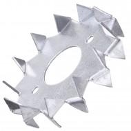 6 Einpressdübel DIN 1052 2-seitig verzinkt 75 mm Durchmesser
