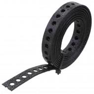 1 Lochband verzinkt schwarz kunststoffbeschichtet 12x0,9 á 1,5m