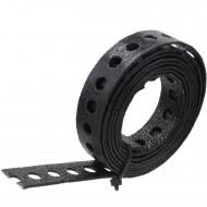 1 Lochband verzinkt schwarz kunststoffbeschichtet 12x0,8 á 1,5m
