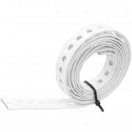 1 Lochband verzinkt weiß kunststoffbeschichtet 17x1,0 á 1,5m