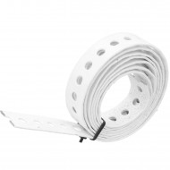 1 Lochband verzinkt weiß kunststoffbeschichtet 20x1,0 á 1,5m