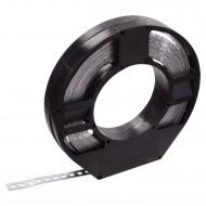 1 Lochband in Kunststoff Abrollbox verzinkt 12x0,75 á 10m