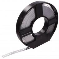 1 Lochband in Kunststoff Abrollbox verzinkt 17x0,75 á 25m