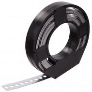 1 Lochband in Kunststoff Abrollbox verzinkt 25x0,75 á 10m
