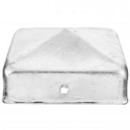 1 GAH Pfostenkappe flach Stahl feuerverzinkt 71x71 mm