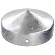 1 GAH Pfostenkappe rund, Ø 100mm, Stahl feuerverzinkt