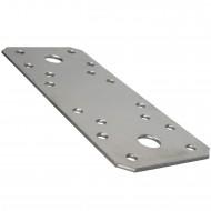 50 GAH Flachverbinder Edelstahl A2 135 x 55 x 2mm