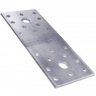 10 Standard Flachverbinder feuerverzinkt 140x55x3,0