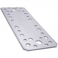 10 Standard Flachverbinder feuerverzinkt 175x65x2,5