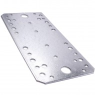 50 Standard Flachverbinder feuerverzinkt 195x90x2,5