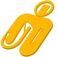 50 Twisto-Click Distanzplatten gelb 50x50x2