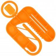 50 Twisto-Click Distanzplatten orange 50x60x6