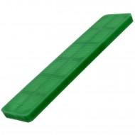 100 Verglasungsklötze grün 100x24x5