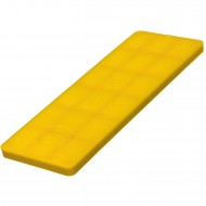 1000 Verglasungsklötze SILISTO® Classic gelb 100x34x4