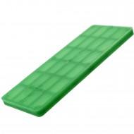 100 Verglasungsklötze SILISTO® Classic grün 100x40x5