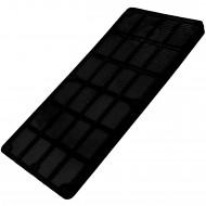 50 Verglasungsklötze SILISTO® Classic schwarz 100x50x6