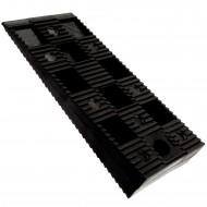 200 Befestigungskeile, normale Tragfähigkeit, schwarz 95 x 45 x 15 mm